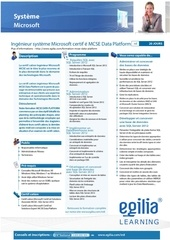 certification mcse data platform