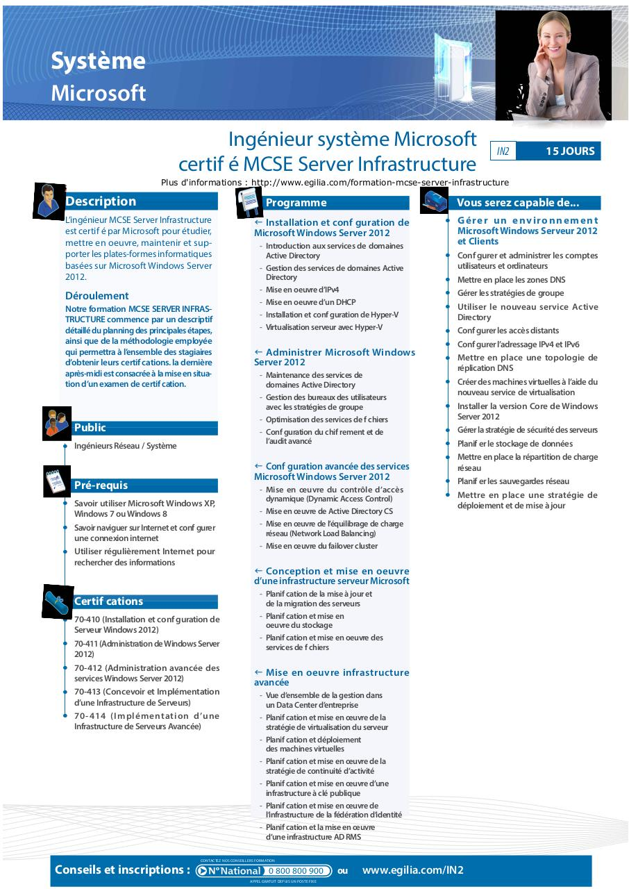 Aperçu du document Certification MCSE Server Infrastructure.pdf - page 1/1