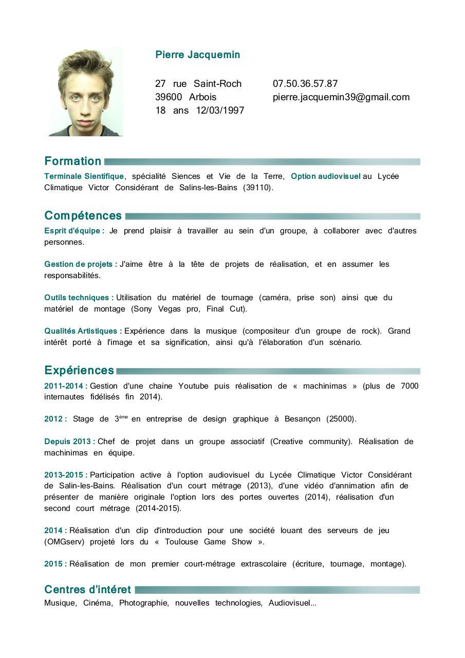 cv pierre jacquemin pdf par pierre jacquemin