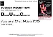 dossier inscription concours de danse duc juin 2015