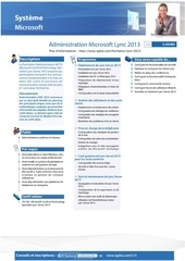 formation lync 2013 administration