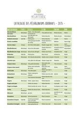 catalogue pelargoniums odorants 2015