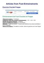 Fichier PDF foot entrainements 1