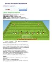 foot entrainements 3