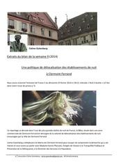 bilan semaine n 9 2014 extrait clermont ferrand