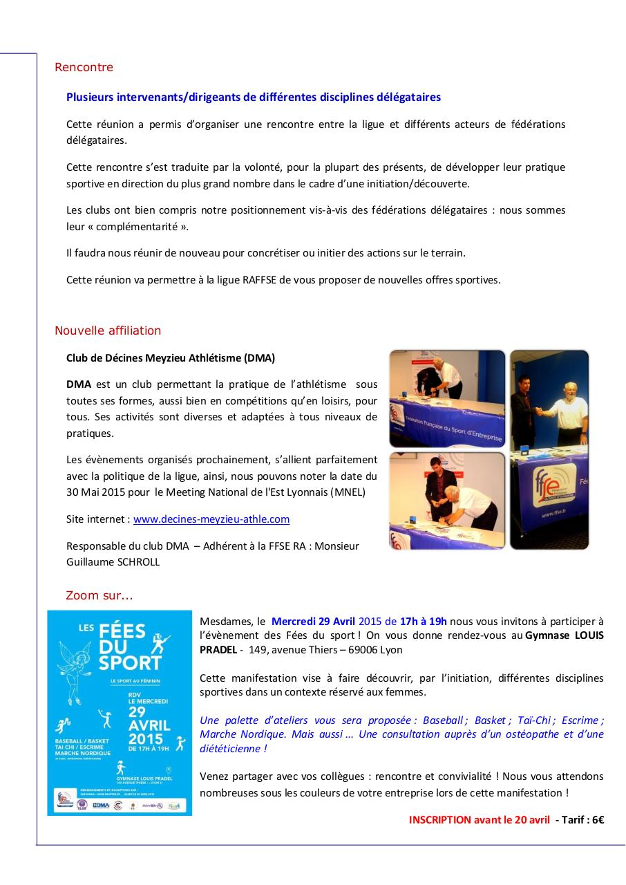 Aperçu du document Newsletter 2 - FFSERA.pdf - page 3/4