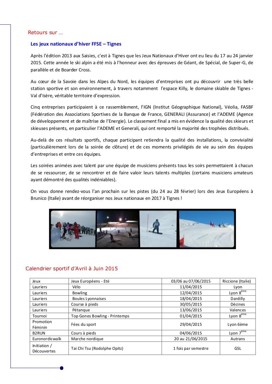 Aperçu du document Newsletter 2 - FFSERA.pdf - page 4/4