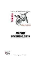 part list dtmx 79