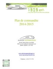 plan de commandites 2015