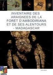 inventaire araignees foret ambodiriana et alentours