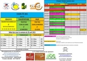 cours et stages 2015
