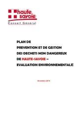 evaluation environnemental