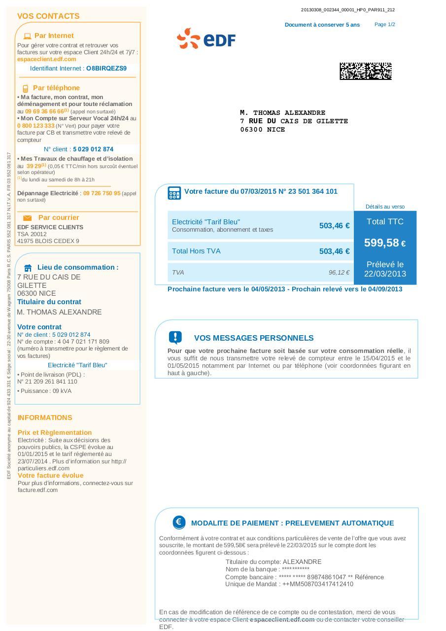 facture-edf-2013-vierge-pdf par EDF Direction Commerce ...