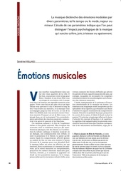 motions musicales