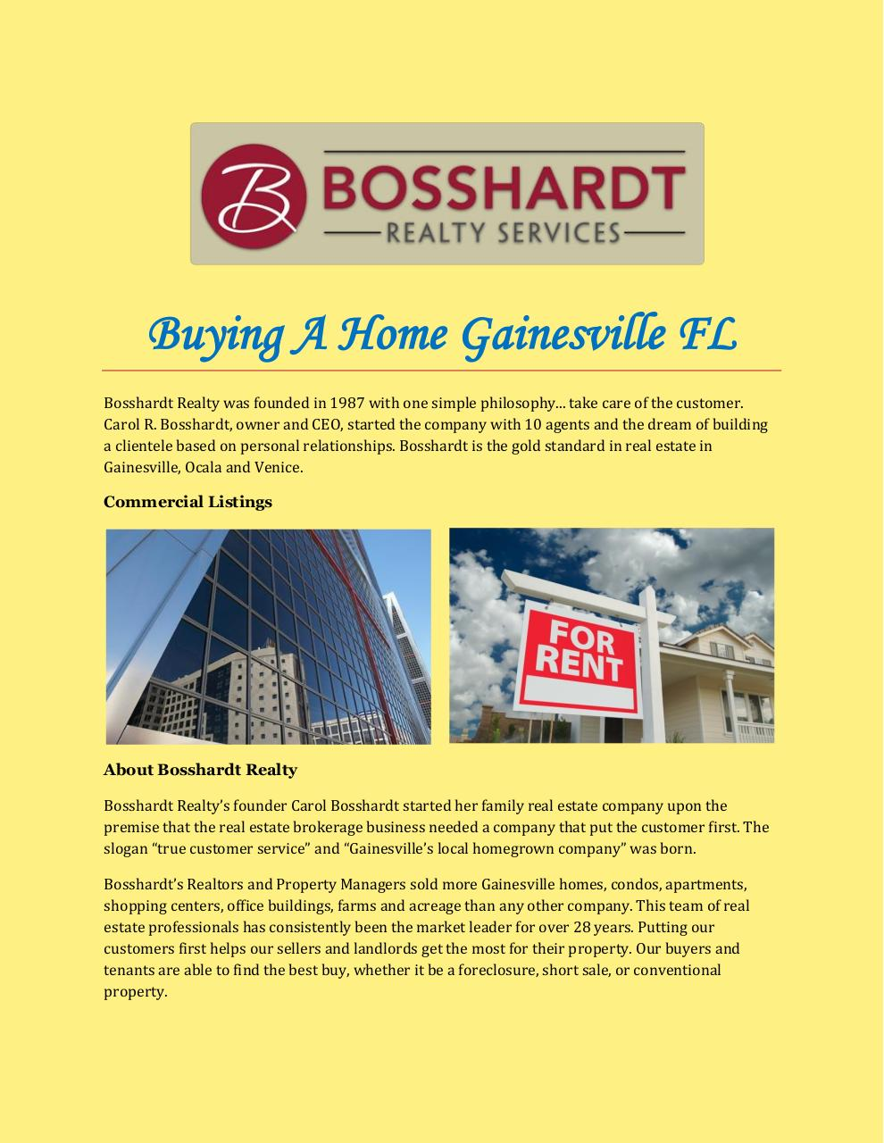 Buying A Home Gainesville FL.pdf - page 1/3