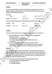 Fichier PDF serie proba bac sciences