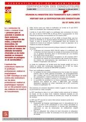 20150408 flash info rencontre ministere certif conducteurs