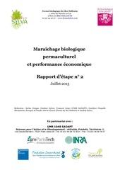 etude maraechage permaculture 2013