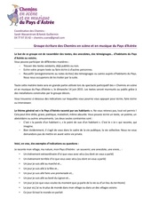 indications groupe criture chemins