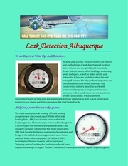 leak detection albuquerque