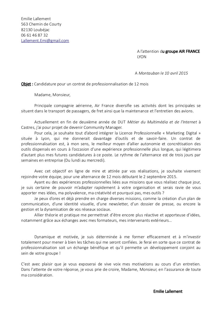 pdf  lettre de motivation licence pro alternance