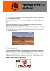 news letter avril es