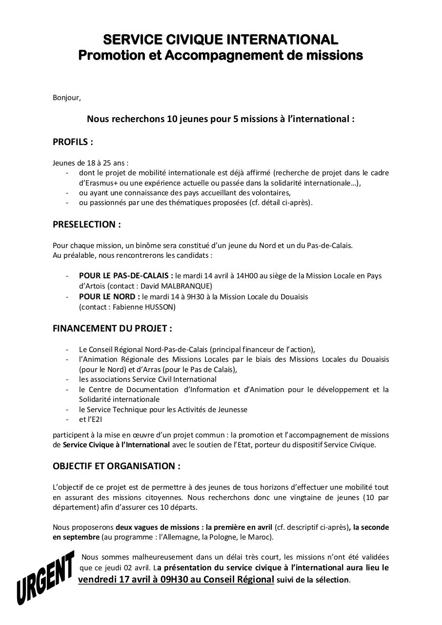 Aperçu du document recherche candidats Sce Civique International.pdf - page 1/3