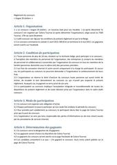 reglement du concours colora tournai fb