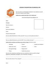 Fichier PDF dossier demande benevolat spa vdef