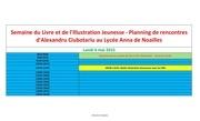Fichier PDF planning rencontres alexandru ciubotariu familles