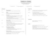 resume tanguy conq 2015