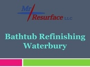 bathtub refinishing waterbury