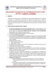 Fichier PDF reglementcnc cadets juniors