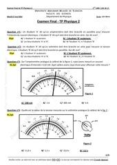 examen final tp physique2 bareme 27 05 2014