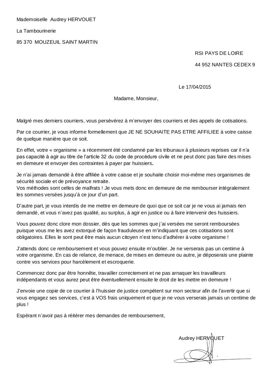 Aperçu du document Courrier RSI 17042015.pdf - page 1/1