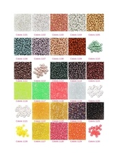 nuancier perles miyuki 110