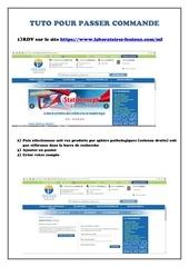 Fichier PDF tuto pour passer commande 1