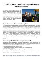overblog les cooperatives agricoles