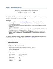 div aps 5 loi process