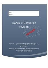 Fichier PDF dossier de revision correctif