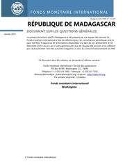 fmi madagascar ducument sur les questions generales 2015
