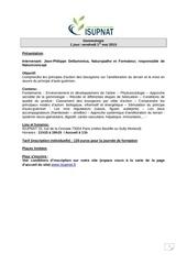 isupnat cours a la carte mai 2015
