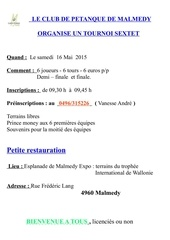 petanque sextet