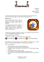 Fichier PDF seals circus