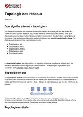 Fichier PDF topologie des reseaux
