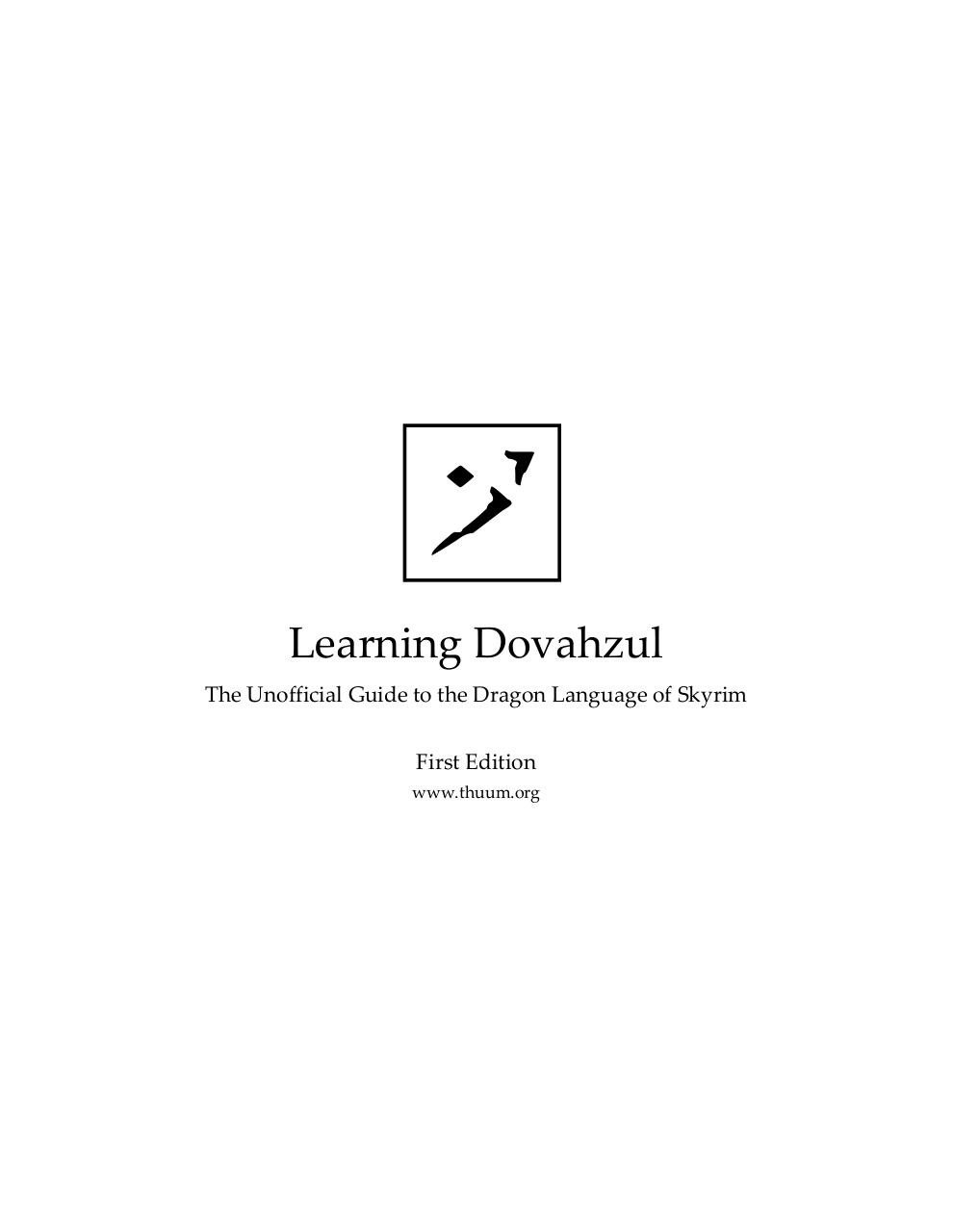 Learning Dovahzul.pdf - page 1/53