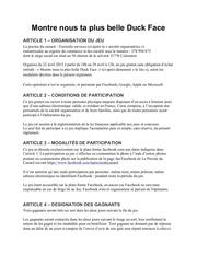 reglement concours timeline lpdc