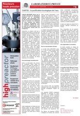 article cartis revue scientifique