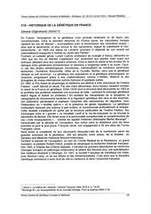 Fichier PDF historique de la genetique en france