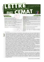 lettre cemat n29